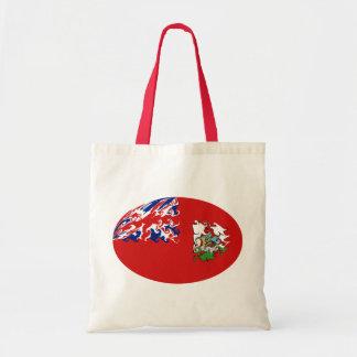 Bermuda Bhutan Flag Bag Budget Tote Bag