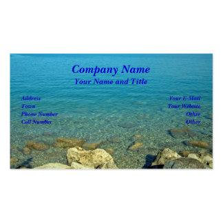 Bermuda: Blue Green Waters Business Cards
