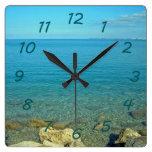 Bermuda:  Blue Green Waters Clocks