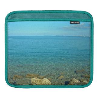 Bermuda Blue Green Waters iPad Sleeves