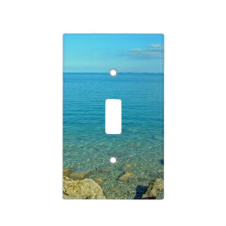 Bermuda Blue Green Waters Light Switch Cover