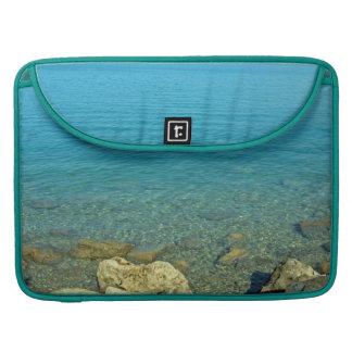 Bermuda Blue Green Waters Sleeves For MacBooks