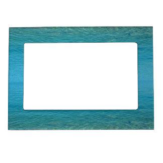 Bermuda Blue Green Waters Magnetic Photo Frame