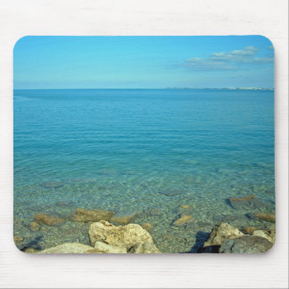 Bermuda Blue Green Waters Mouse Pad