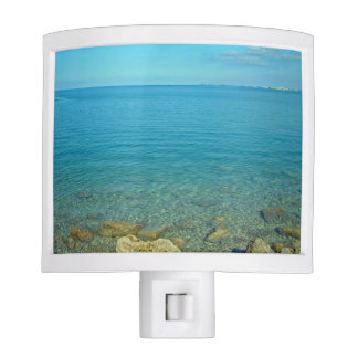 Bermuda Blue Green Waters Night Light