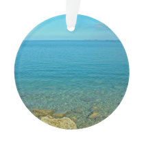 Bermuda Blue Green Waters Ornament