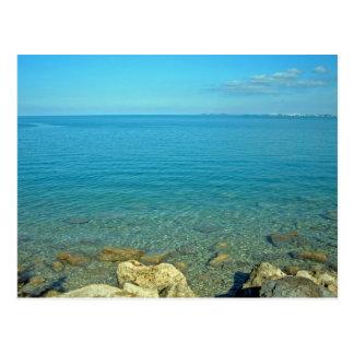 Bermuda Blue Green Waters Postcard