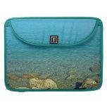 Bermuda:  Blue Green Waters Sleeves For MacBooks