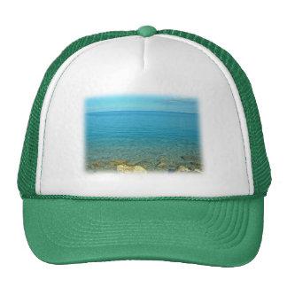 Bermuda Blue Green Waters Trucker Hat