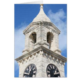 Bermuda Clocktower card