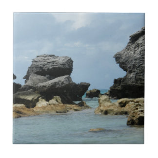 Bermuda Coastline Tile