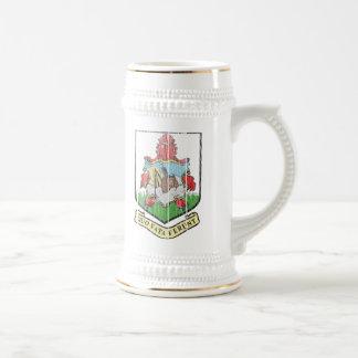 Bermuda Coat Of Arms Beer Stein