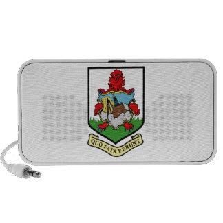 Bermuda Coat of Arms Mini Speakers
