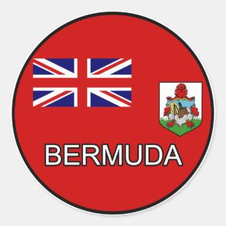 Bermuda Euro Sticker