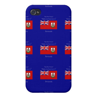 Bermuda Flag and Motto iPhone 4 Cases