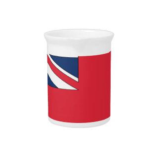 Bermuda Flag Beverage Pitcher