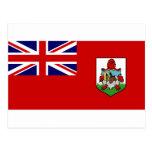 Bermuda Flag BM Postcard