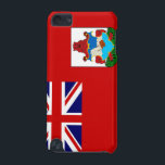 "Bermuda Flag iPod Touch 5G Case<br><div class=""desc"">Original flag design looks like it was painted on! Commemorate your world travels, celebrate your heritage or show everyone how much you love your home! This image is available on a variety of products. Check out all of our other designs at http://www.zazzle.com/zipperedflags Do you have a request or questions? Contact...</div>"