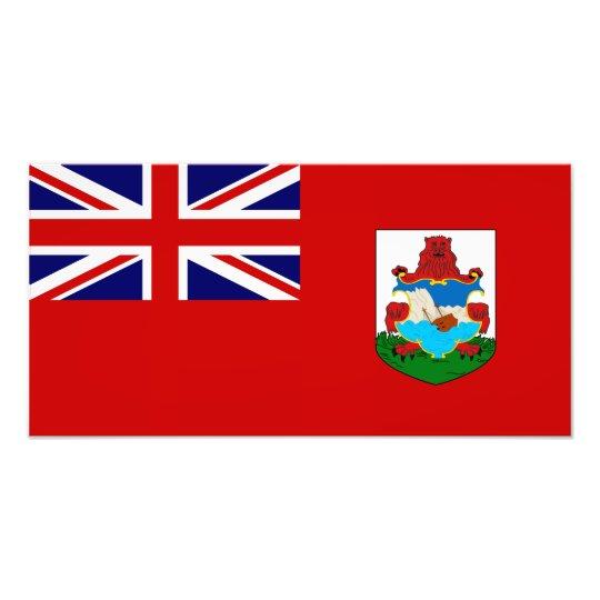 Bermuda Flag Photo Print
