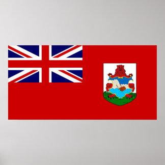 Bermuda Flag Poster