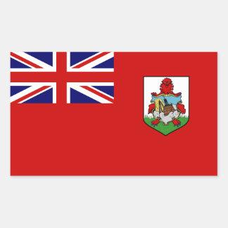 Bermuda Flag Rectangle Stickers