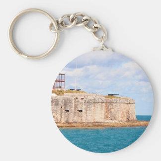 Bermuda Fort keychain