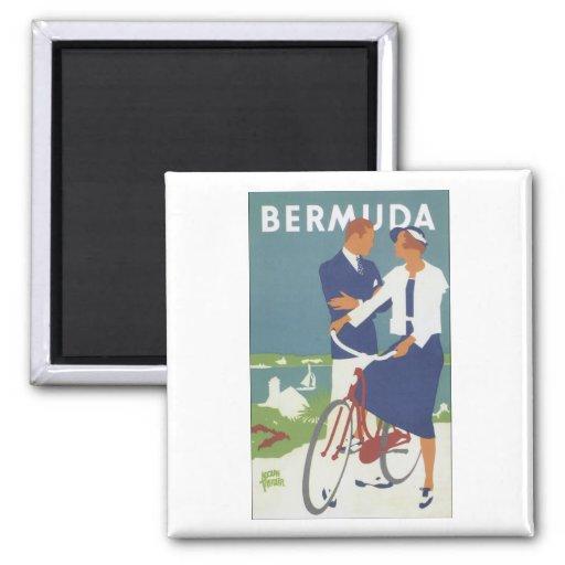 Bermuda Fridge Magnet