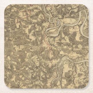 Bermuda Hundred, Virginia Square Paper Coaster