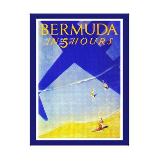 Bermuda in 5 hours canvas print