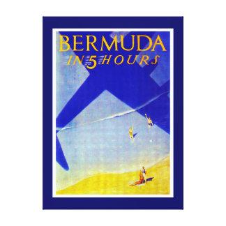Bermuda in 5 hours - L Canvas Print