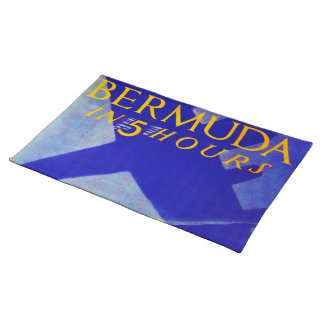 Bermuda in 5 hours placemat
