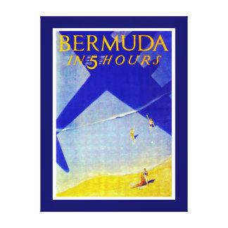 Bermuda in 5 hours - XL Canvas Print
