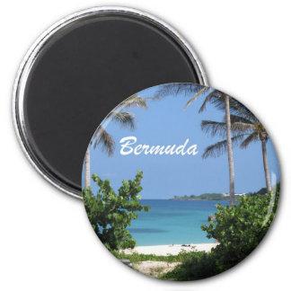 Bermuda 2 Inch Round Magnet