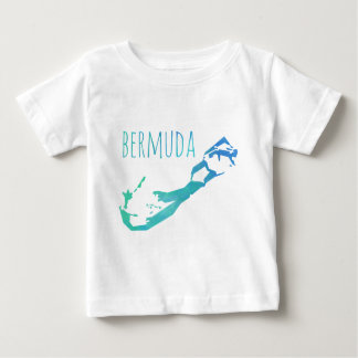 Bermuda Map Baby T-Shirt