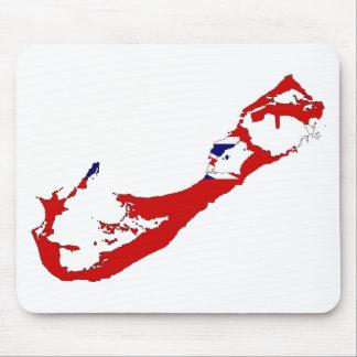 Bermuda map BM Mouse Pad
