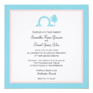Bermuda Moongate Wedding Destination Invitation