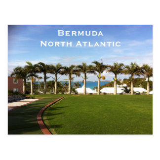 Bermuda North Atlantic Vintage Travel Tourism Add Postcard