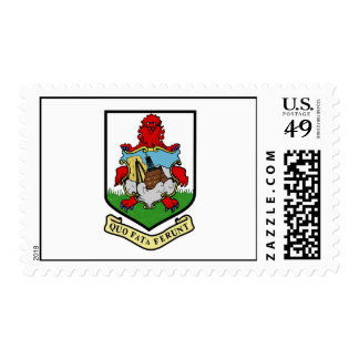Bermuda Official Coat Of Arms Heraldry Symbol Postage Stamps