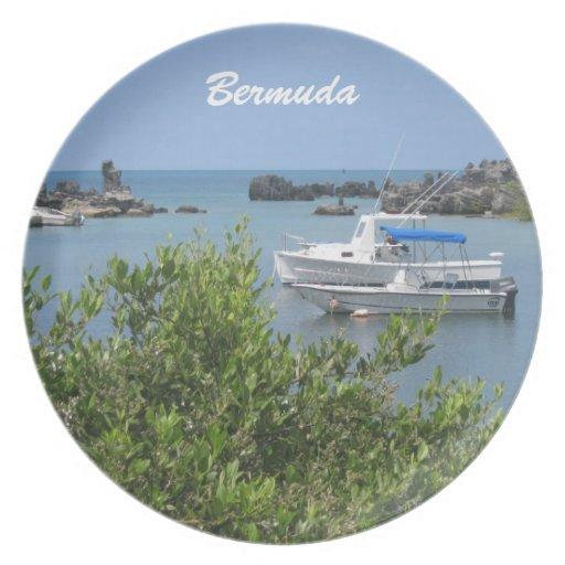 Bermuda Party Plates