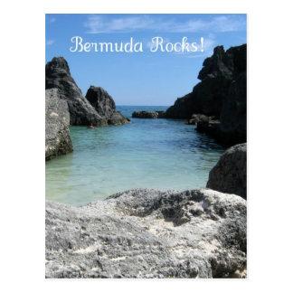 Bermuda Rocks Postcard