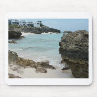 Bermuda - Rocky Ocean Mouse Pad