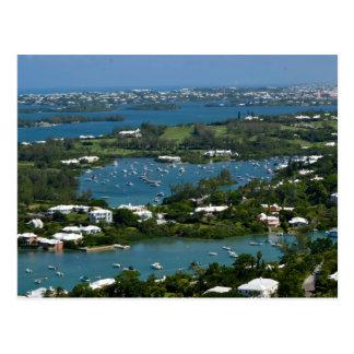 Bermuda shorts - Hill View - Warwick - Downtown Postcard