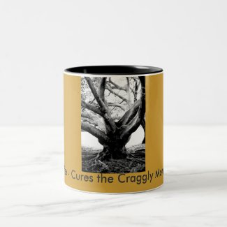 Bermuda Tree Two-Tone Coffee Mug