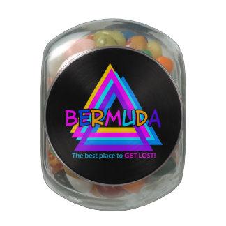 Bermuda Triangle custom tins & jars Jelly Belly Candy Jar