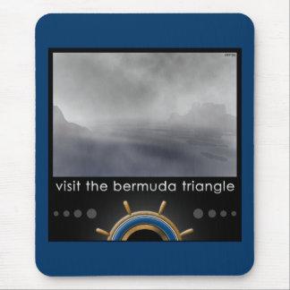 Bermuda Triangle Mouse Pad