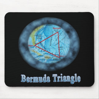 bermuda triangle mouse pad