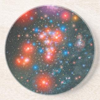 Bermuda Triangle of our Milky Way Galaxy Drink Coaster