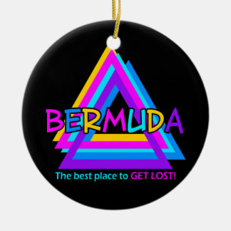 BERMUDA TRIANGLE ornament - customize