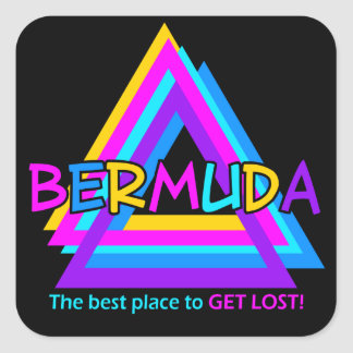 BERMUDA TRIANGLE stickers
