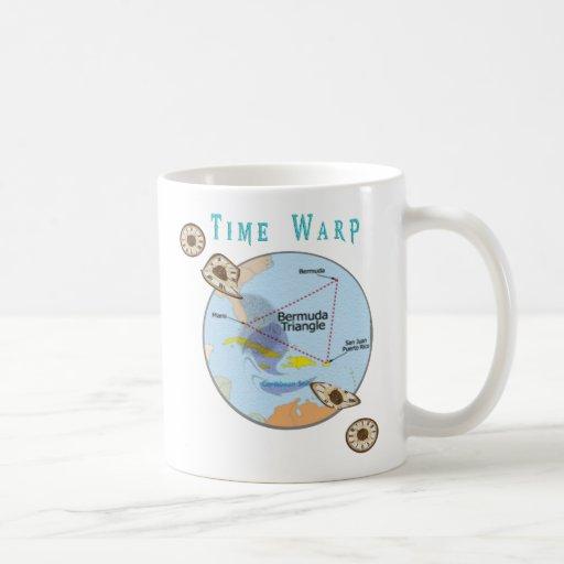 Bermuda triangle time warp mug